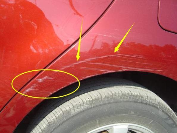 车漆刮花就去补?教你一招不花钱轻松修复不留痕