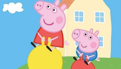 《小猪佩奇》动画片 截屏图