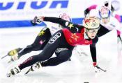 短道速滑世界杯夺两金 武大靖担起中国队领军人重任