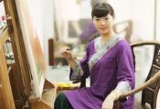 《一个人一座城》诗里梦里刘基故里,山城水城画之文成——刘梅子油画作品展