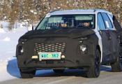 主攻全尺寸SUV市场 现代八座全新平台车型谍照曝光
