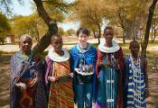 海清担任野生救援公益大使亲赴坦桑尼亚关注大象生态