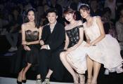 李欣燃亮相北京时装周 受邀头排看秀