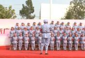 固始县张广庙镇上元村文艺汇演 大合唱《我们是共产主义接班人》