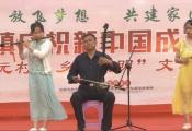 固始县张广庙镇上元村文艺演出 固始琴书会表演《夸上元》