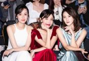 高晓菲受邀出席2020春夏上海时装周 性感摇曳秋日浪漫