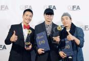 章家瑞《白色婚礼》获好莱坞国际电影节大奖,何晟铭摘国际影帝